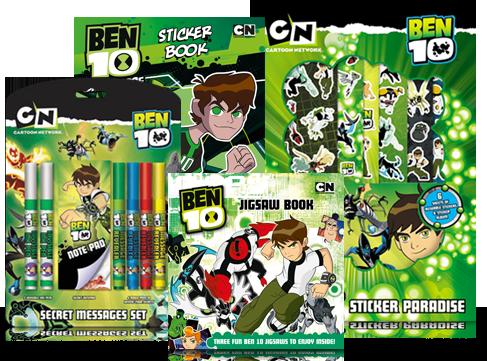 Ben 10 Print Design