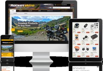 Rocket Moto Magento Store