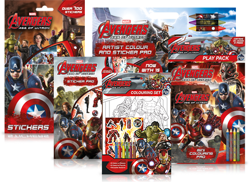 Avengers Print Design