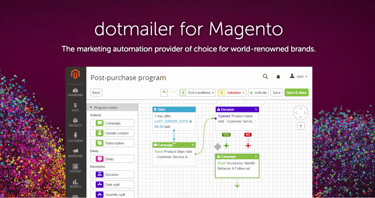 dotmailer for Magento