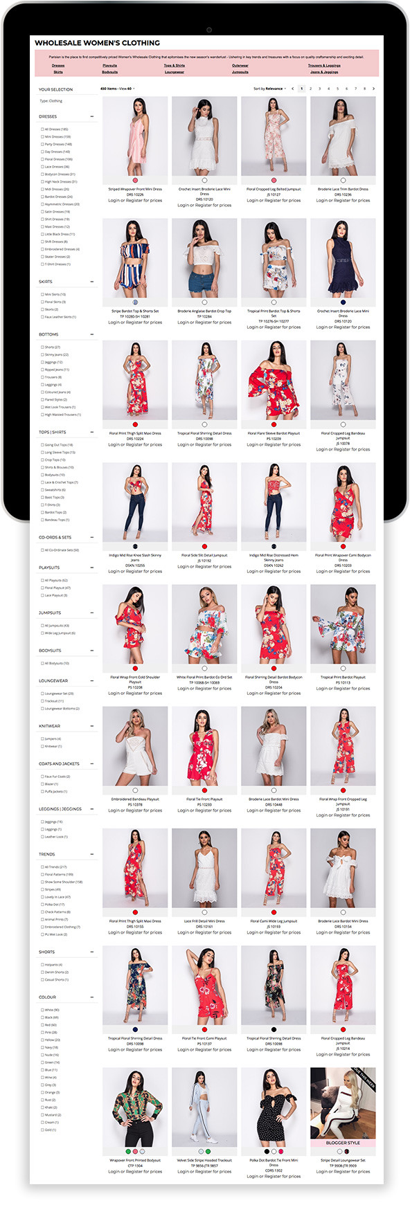 Mary Jane Fashion Magento Fashion website on Mobile Device