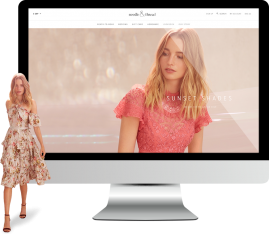 Magento fashion ecommerce website