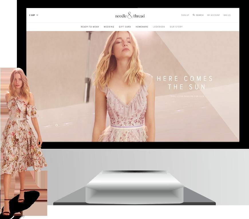 Magento fashion ecommerce website