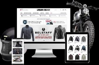 Urban Rider Magento Ecommerce Store
