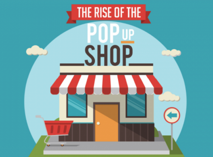 The Rise of the Popup Shop - One of the Ways to Promote Your Ecommerce Business - Illustration
