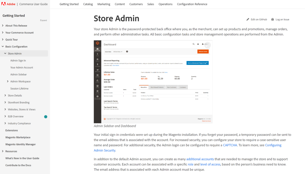 Magento User Guide provides detailed documentation on how to use Magento