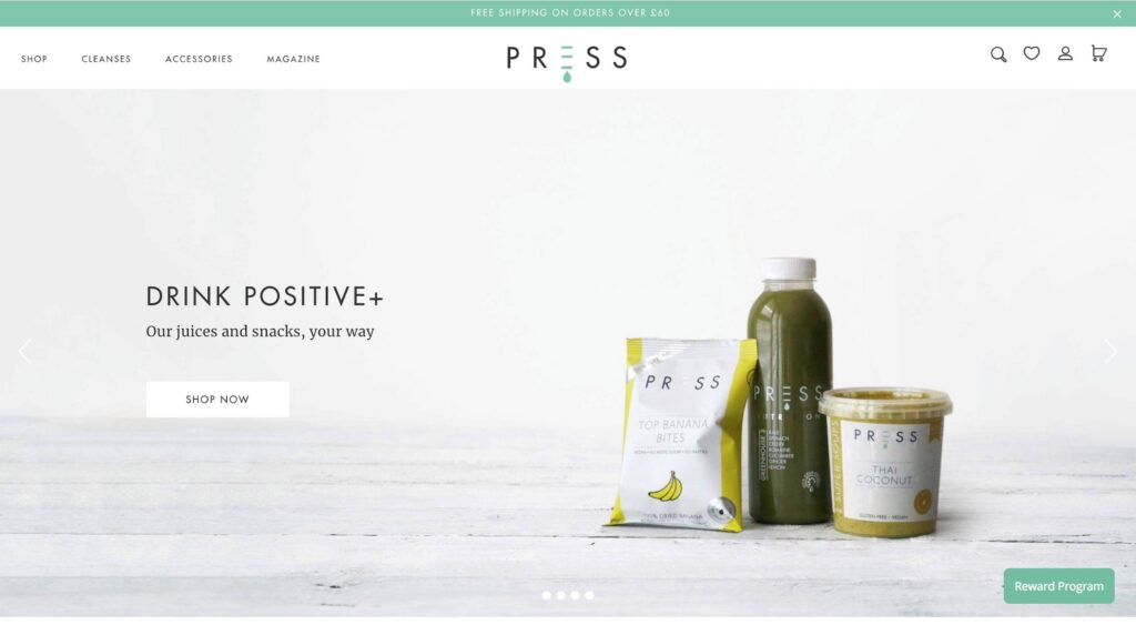 Shopify is great for small businesses to quickly launch a brand new store